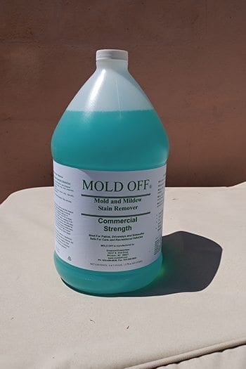 Commercial Strength Mold and Mildew Stain Remover